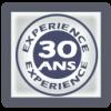 picto 30 ans d'expérience